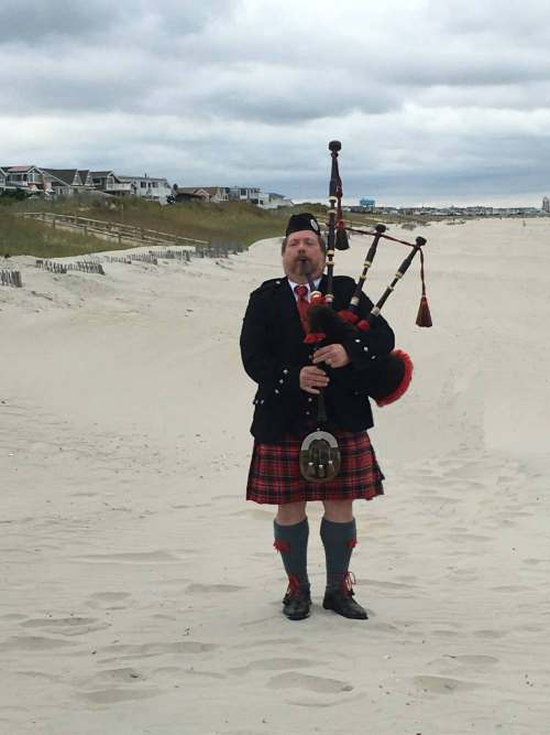 Bagpipes for Mary